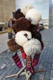 Καπέλα προβάτων στην αγορά στην παλαιά πόλη Icheri Sheher baklava φλυάρων Στοκ Φωτογραφίες