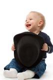 καπέλο αγοριών λίγα Στοκ Φωτογραφίες
