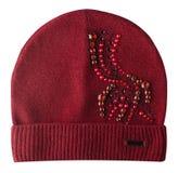 Καπέλο γυναικών ` s που απομονώνεται στο άσπρο υπόβαθρο Στοκ Φωτογραφία
