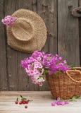 καπέλο καλαθιών στοκ φωτογραφίες με δικαίωμα ελεύθερης χρήσης