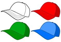 καπέλο καπέλων του μπέιζμπ& Στοκ Εικόνες