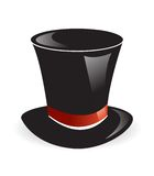 καπέλο μαγικό Στοκ Εικόνες