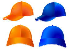 Καπέλο του μπέιζμπολ - διάνυσμα Στοκ Φωτογραφίες