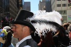 καπέλο φτερών Πάσχας Στοκ φωτογραφίες με δικαίωμα ελεύθερης χρήσης