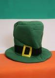 καπέλο patricks ST ημέρας Στοκ φωτογραφία με δικαίωμα ελεύθερης χρήσης