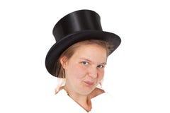 καπέλο stovepipe στοκ φωτογραφίες με δικαίωμα ελεύθερης χρήσης