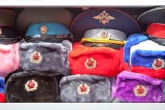 Καπέλα με τα earflaps Στοκ φωτογραφίες με δικαίωμα ελεύθερης χρήσης