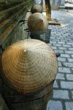 Καπέλα στα ποδήλατα Στοκ Εικόνες