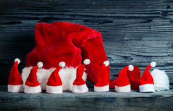 Καπέλα Χριστουγέννων Στοκ εικόνα με δικαίωμα ελεύθερης χρήσης