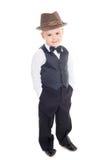 καπέλο αγοριών λίγα Στοκ Εικόνες