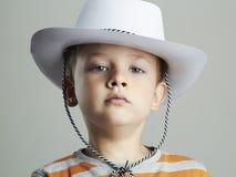 καπέλο αγοριών λίγα Στοκ εικόνες με δικαίωμα ελεύθερης χρήσης