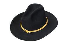 Καπέλο αμερικανικού ιππικού που απομονώνεται Στοκ φωτογραφία με δικαίωμα ελεύθερης χρήσης