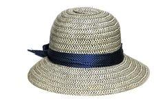 Καπέλο γυναικών που απομονώνεται Στοκ φωτογραφία με δικαίωμα ελεύθερης χρήσης