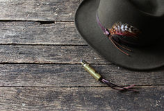 Καπέλο και αναπτήρας Στοκ Φωτογραφίες