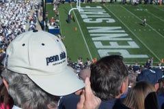 Καπέλο μπέιζ-μπώλ λιονταριών κρατικού Nittany Penn Στοκ Φωτογραφία