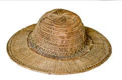 Καπέλο μπαμπού στοκ φωτογραφία