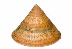 Καπέλο μπαμπού στοκ φωτογραφίες