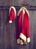Καπέλο & παλτό Santa Στοκ εικόνες με δικαίωμα ελεύθερης χρήσης
