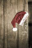 Καπέλο Santa Στοκ εικόνες με δικαίωμα ελεύθερης χρήσης