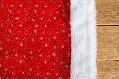 Καπέλο Santas Στοκ Φωτογραφίες