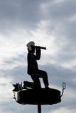 Καπετάνιος με τις διόπτρες Στοκ φωτογραφία με δικαίωμα ελεύθερης χρήσης