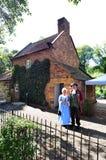 Καπετάνιος Cooks Cottage στοκ φωτογραφία
