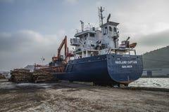 Καπετάνιος Hagland Στοκ εικόνες με δικαίωμα ελεύθερης χρήσης