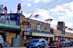 Καπετάνιος Jacks στο σημείο Sodus, Νέα Υόρκη στοκ εικόνα