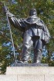 Καπετάνιος Robert Falcon Scott Statue στο Λονδίνο Στοκ Εικόνες