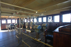 Καπετάνιος Room στη βασίλισσα Mary, Καλιφόρνια Στοκ φωτογραφία με δικαίωμα ελεύθερης χρήσης