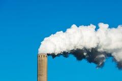 Καπνίζοντας καπνοδόχος Στοκ Εικόνες