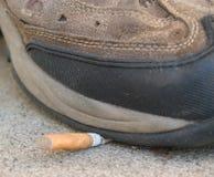 καπνίζοντας στάση Στοκ φωτογραφίες με δικαίωμα ελεύθερης χρήσης