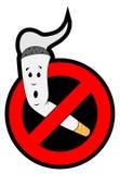 καπνίζοντας στάση Στοκ Εικόνα
