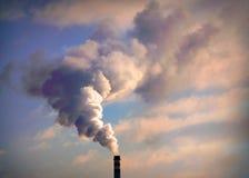 Καπνίζοντας σωρός Στοκ φωτογραφία με δικαίωμα ελεύθερης χρήσης