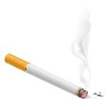 Καπνίζοντας τσιγάρο ελεύθερη απεικόνιση δικαιώματος