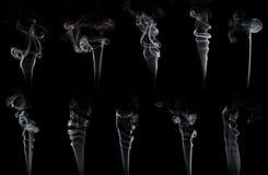 Καπνίστε τη συλλογή στοκ εικόνα