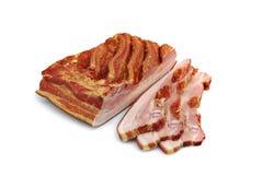 Καπνισμένα πλευρά και κρέας Στοκ Εικόνες