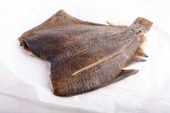 Καπνισμένα ψάρια - πλευρονήκτης στοκ φωτογραφίες