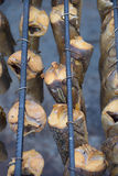 Καπνισμένα ψάρια Στοκ Εικόνες