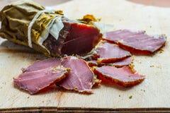 Καπνισμένο κρέας άγριων κάπρων στοκ φωτογραφία με δικαίωμα ελεύθερης χρήσης
