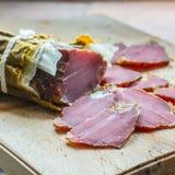 Καπνισμένο κρέας άγριων κάπρων στοκ εικόνες