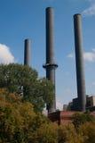 καπνοδόχοι τρία Στοκ Εικόνα