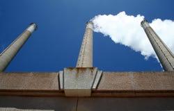 καπνοδόχοι Στοκ Φωτογραφία