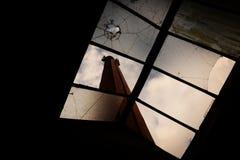 καπνοδόχος βιομηχανική Στοκ Φωτογραφία