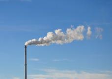 καπνοδόχος βιομηχανική Στοκ Εικόνες