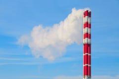 καπνοδόχος βιομηχανική Στοκ φωτογραφίες με δικαίωμα ελεύθερης χρήσης