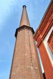 καπνοδόχος τούβλου παλαιά Στοκ εικόνες με δικαίωμα ελεύθερης χρήσης