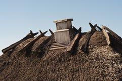 καπνοδόχος thatch Στοκ Εικόνα