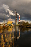 καπνοδόχοι βιομηχανικές Στοκ Εικόνες
