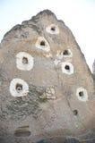 Καπνοδόχοι & x28 νεράιδων βράχος formations& x29  κοντά σε Goreme Στοκ φωτογραφία με δικαίωμα ελεύθερης χρήσης